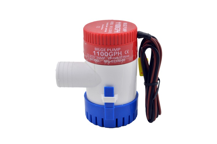 Wholesale Use Boats - 12V 24V 1100GPH Submersible Water Bilge Pump Used In Boat Seaplane Motor Homes House boat