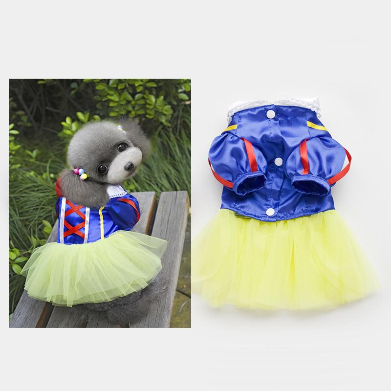 Wholesale New Small Girls Dresses - 2016 New Arrival Princess Party Costumes Dresses, Faldas Clothing For Girls Cachorro, Pets Dogs Summer Dress