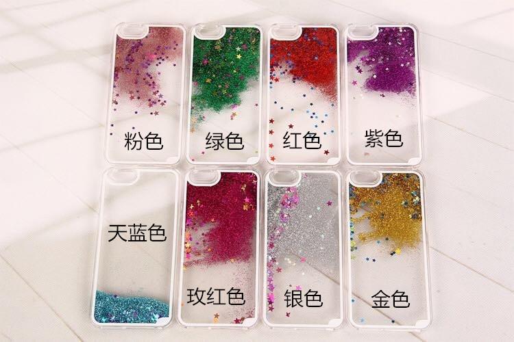 Wholesale Cove Case S4 - Cefa Quicksand Liquid Glitter Hard PC Case Star Clear Floating Sandglass for Samsung Galaxy S6 SVI S4 I9500 S5 I9600 Note 4 3 skin Cove