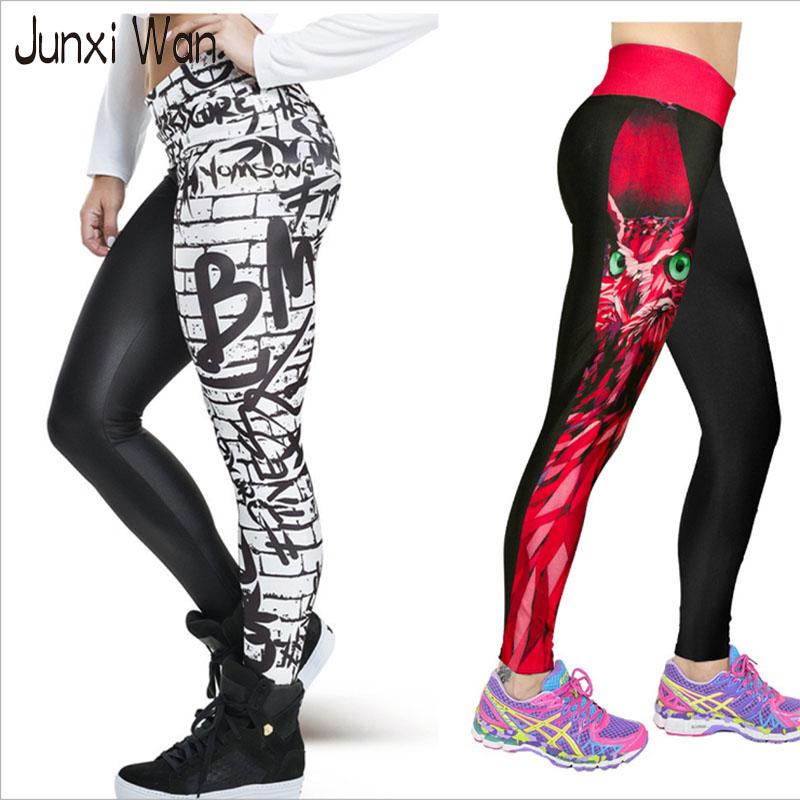 Wholesale Sliming Waist - 3D Printed Women Sport Leggings Sexy Fashion High Waist Fitness Gym Sports Plus Size Sliming Elastic Stretch Yoga Pants WA0057