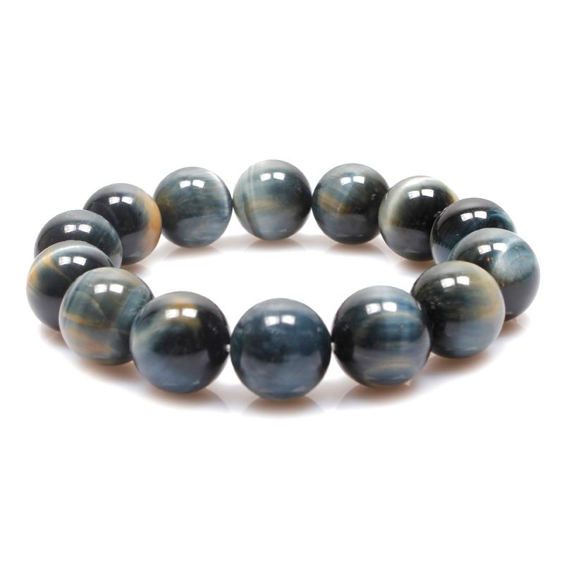 Wholesale Natural Blue Tigers Eye Bracelet - 2016 New Hot Sale Wholesale-Bracelet male natural blue tiger eye bracelet tiger eye bracelet strands bracelet