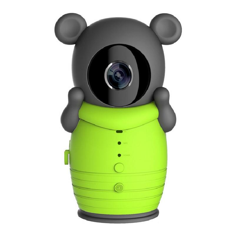 Intercomunicador androide online-Cámara de 720P Monitor de cámara IP IR Visión nocturna Intercomunicador PIR Detección de movimiento wifi Soporte de monitor de cámara de bebé Android / iOS