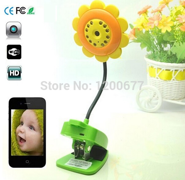 Hot wifi baby monitor IR Night vision baba eletronica com camera wifi baby monitors support iOS/Android smartphone ipad