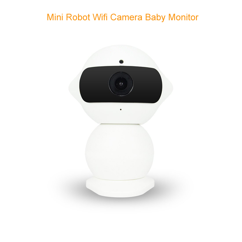 Robot babyphone camera wifi baby monitors 2.0MP ip camera IR Night vision 2 way talk 360 Rotation babyphone camera baby monitor