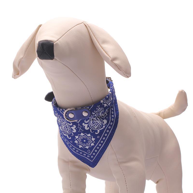 Wholesale Cat Pet Bandana - 3Colors Dog Collars Adjustable Pet Dog Cat Bandana Scarf Collar Neckerchief Brand New Mix Colors 10pcs