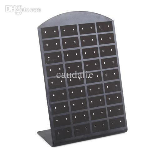 Wholesale Earrings Display 36 Pairs - Wholesale-5Pcs lot 36 Pair Jewelry Holder Organizer Earrings Display Stand #4681