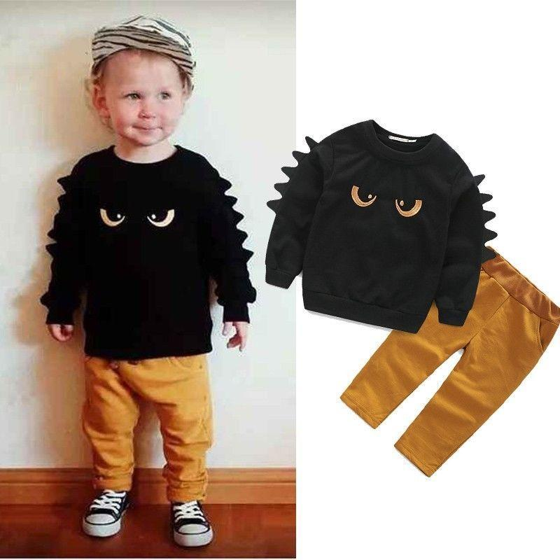 3d467d7ce 2019 Autumn Winter Baby Boy Cute Clothing 2016 Pullover Sweatshirt ...