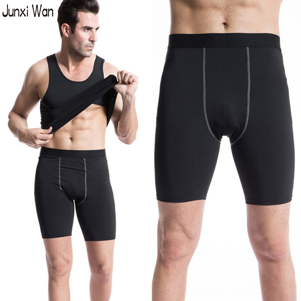 Wholesale Tights Workout Clothes - Mens Sports Shorts Workout Clothes Tight Compression Gym Running Shorts