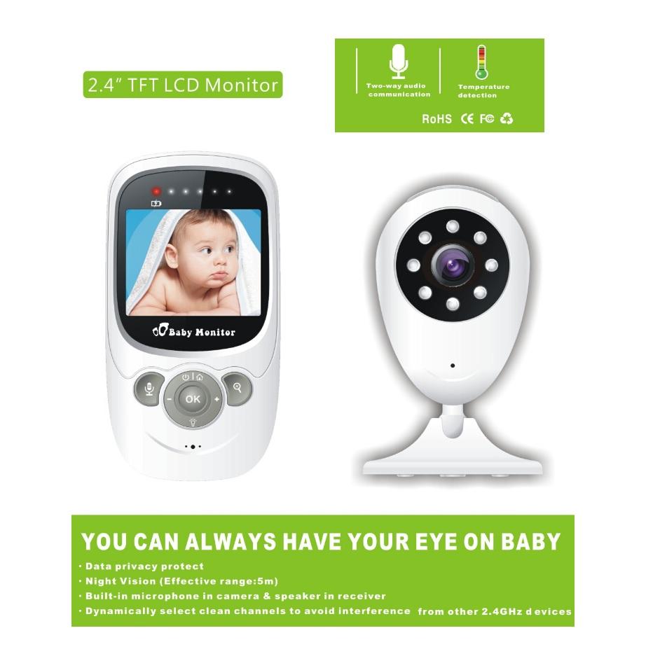 $enCountryForm.capitalKeyWord Canada - 2016 New radio babysitter 2.4inch digital IR night vision Intercom Temperature monitor 4 Lullabies 2X Zoom video babysitting