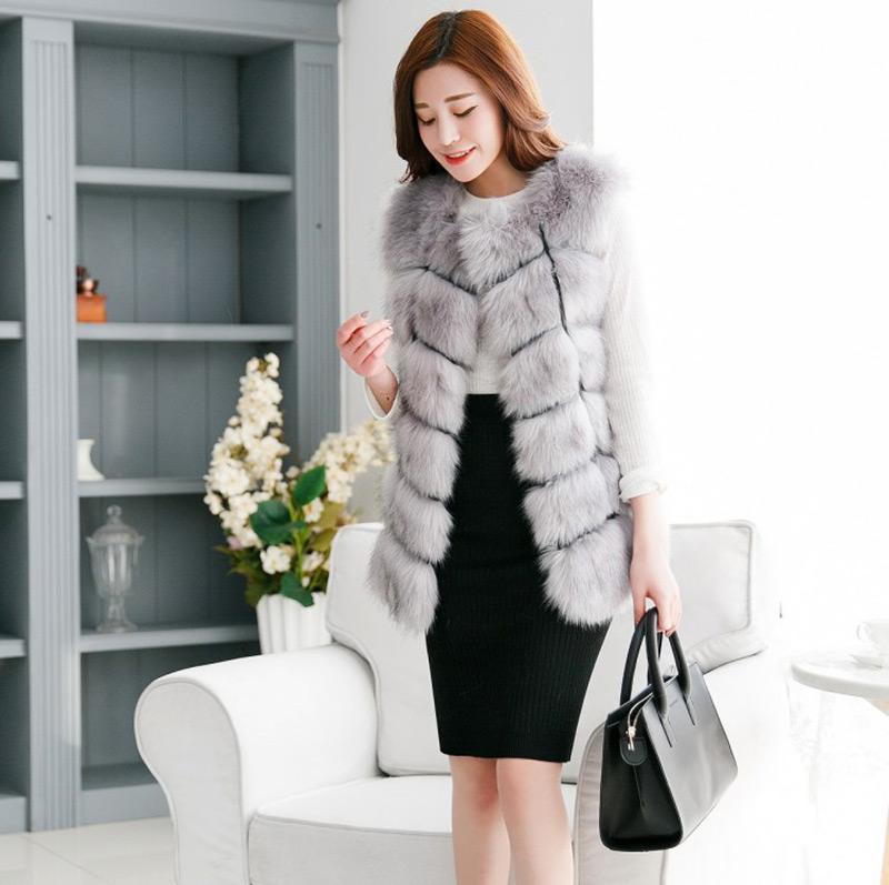 Wholesale Pink Leisure Coat - New 2016 Winter Coat Women Import Whole Peel Fox Fur Vest High-Grade Cappa Fur Coat Leisure Shitsuke