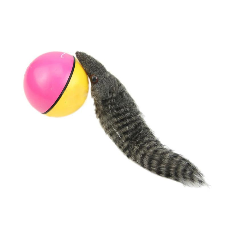 Wholesale Kids Jump Ball - Beaver Weasel is Silent Rolling Motor Ball Pet Cat Dog Kids Chaser Jumping Fun Moving Toy Generally