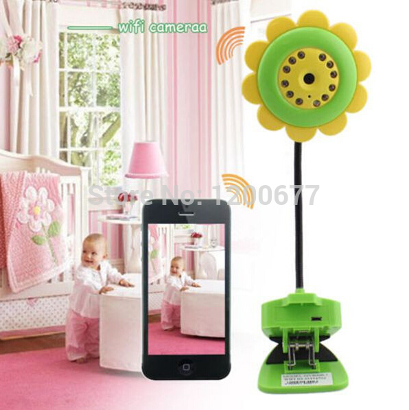 $enCountryForm.capitalKeyWord Canada - Flower IP camera wifi baby monitor radio babysitter 2016 New IR Night vision baba eletronica monitors support IOS Android smart phone ipad