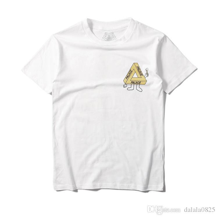 10ff6e15 ... Hot sale PALACE SKATEBOARDS 2016 SS TRI-SMUDGE TEE S-XL black shirt T  ...