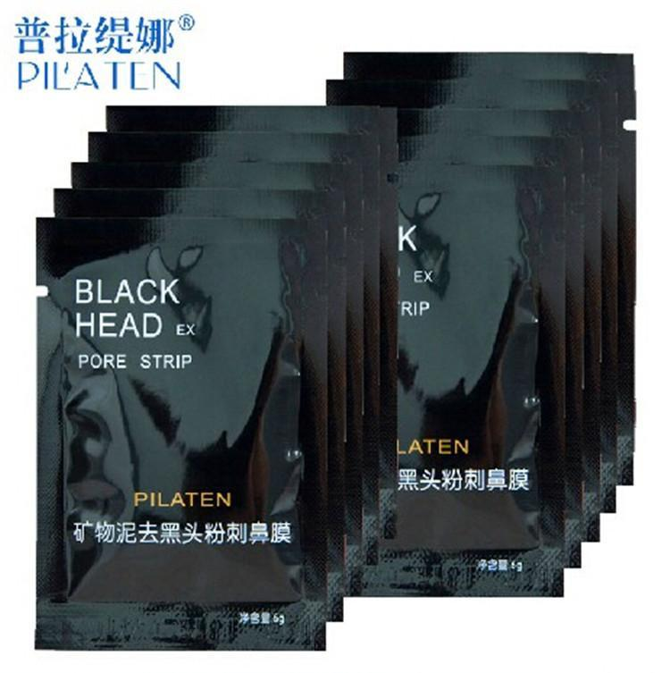 2015 HOT PILATEN Facial Minerals Conk Nose Blackhead Remover Mask Pore Cleanser Nose Black Head EX Pore Strip Free Shipping by dhl