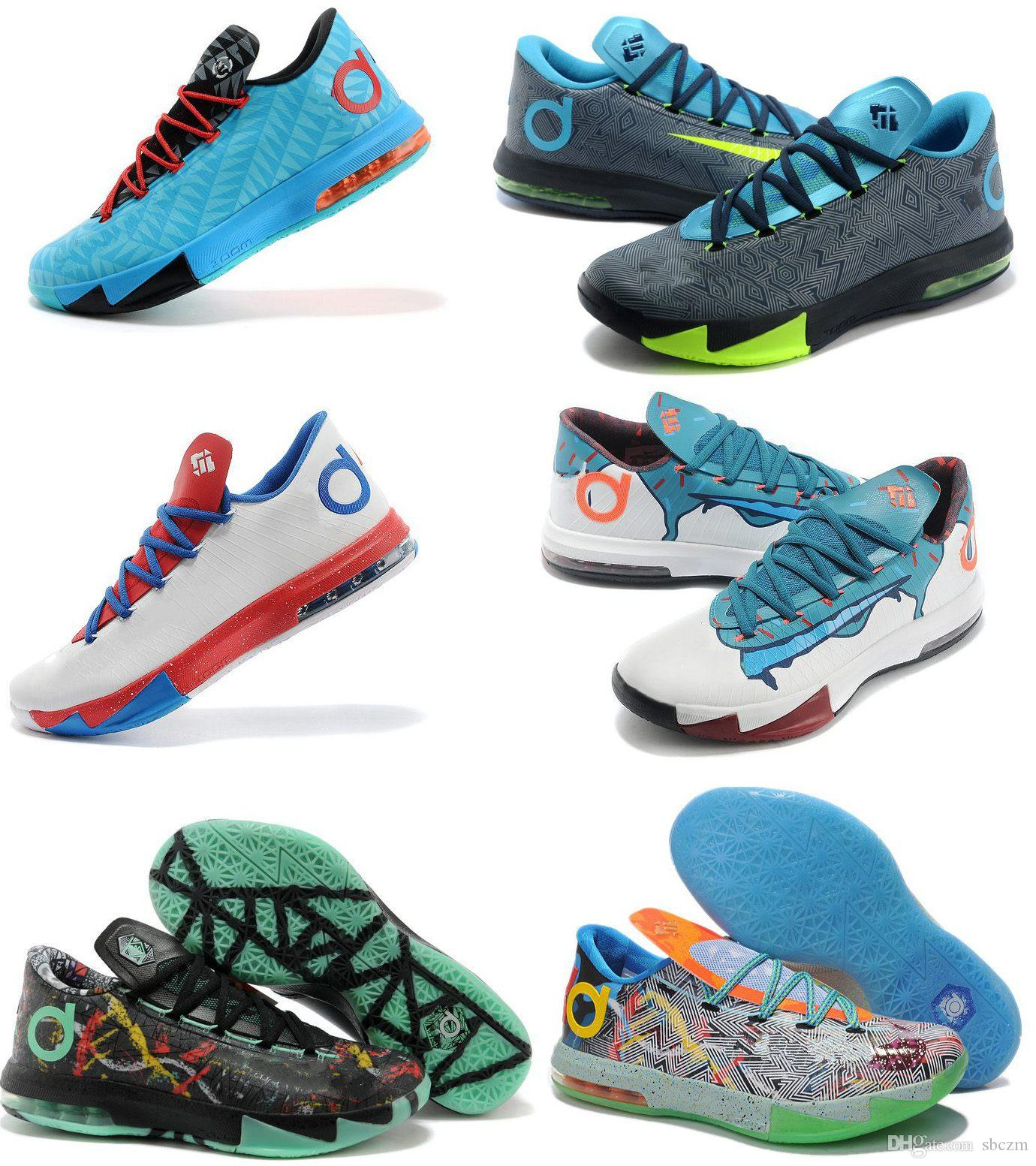 Kevin Durant Kd 6 Mens Basketball Shoes