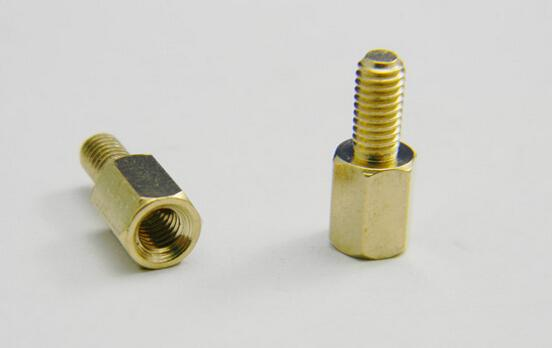 100 adet M3 * 6 + 6 6mm PCB üst ayak yüksek bakır sütunlar destek standı