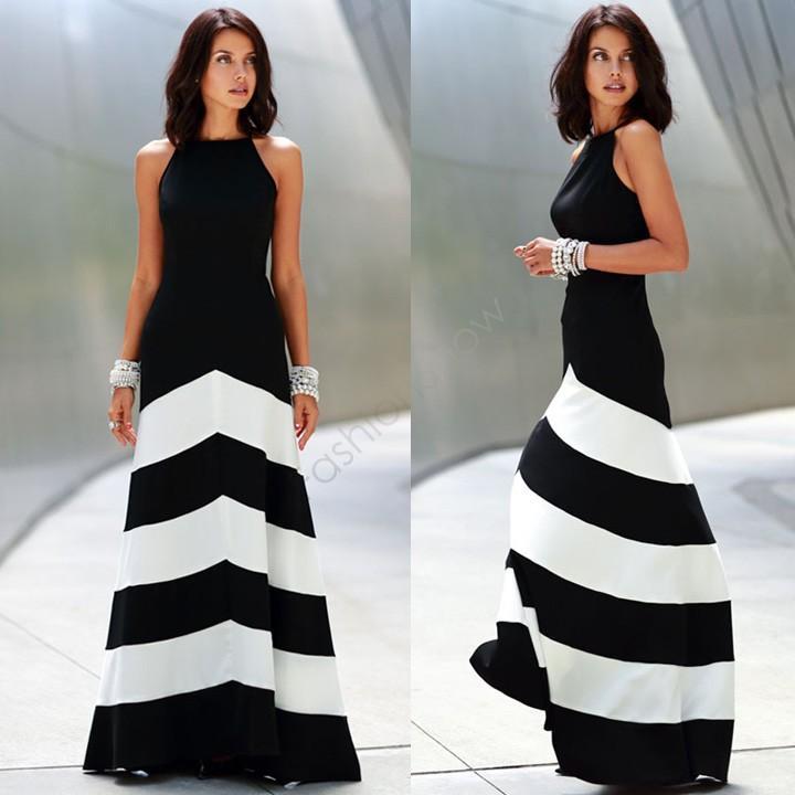 Moda 2015 vestidos mulheres casual lady summer dress elegante off-ombro sem encosto bandage tarja longa festa maxi dress b4