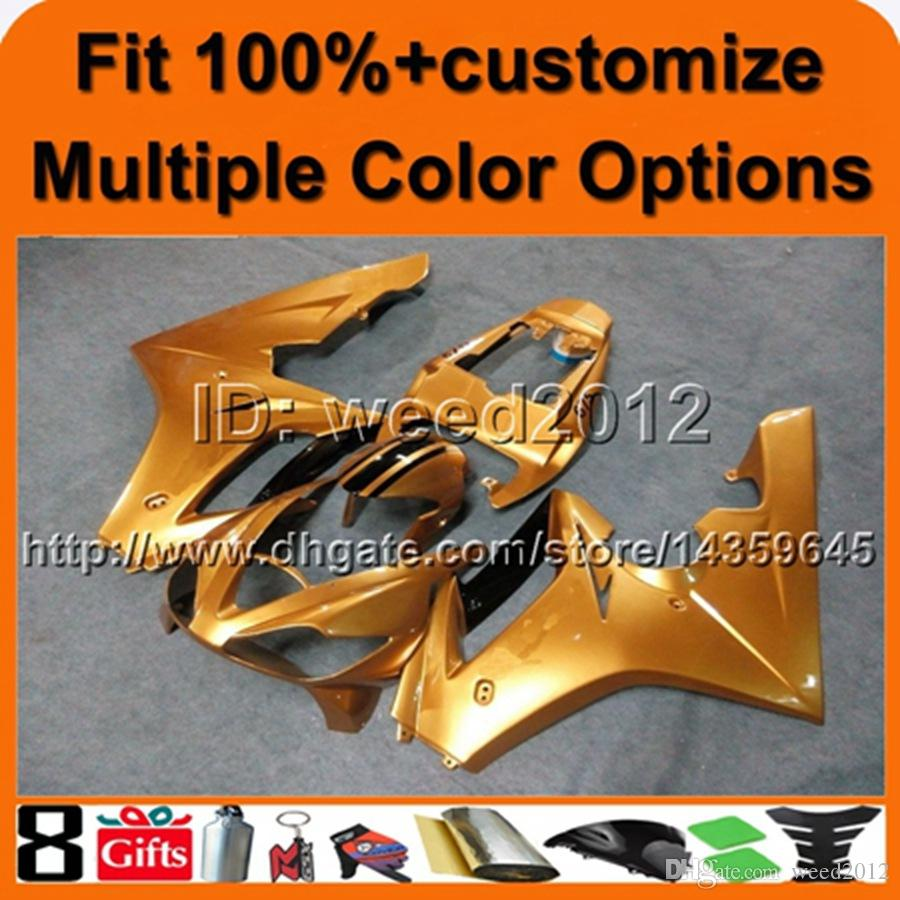 23colors+8Gifts Injection mold GOLD motorcycle hull Daytona 675 06-08 ABS motorcycle fairings for Triumph Daytona 675 2006-2008