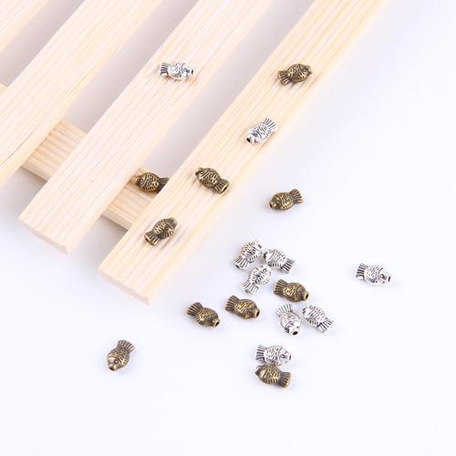 Nouveau mode argent / cuivre perles de poisson rétro Pendentif Fabrication DIY bijoux pendentif fit Collier ou Bracelets charme 2500pcs / lot 4856x