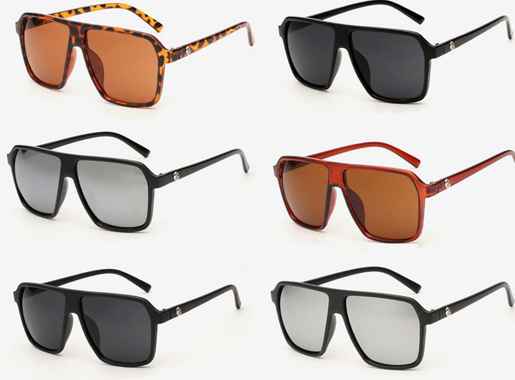 الرجعية الرجال المرأة خمر كبيرة مصمم الأزياء نظارات نظارات الترفيه نظارات تعكس المتضخم إطار نظارات 12 قطعة / الوحدة