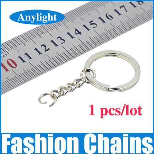 Better metal Key Chains Key Ring 55mm (2.16 inch) long keychain Silver Tone WG03
