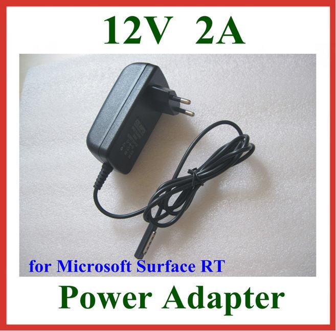 12V 2A EU US Plug Wall Charger for Microsoft Surface RT 10.6 Tablet PC Power Supply Adapter