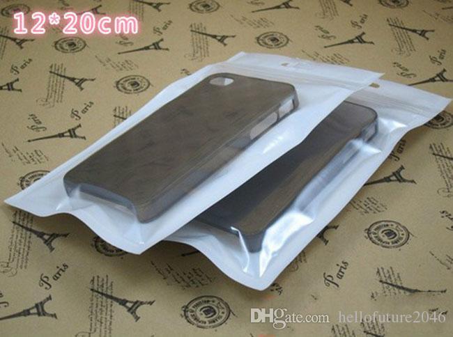 Zipper pacote de varejo embalagem saco de plástico bolsa para iphone case capa do telefone móvel ipad htc lg cabo samsung acessórios frete grátis