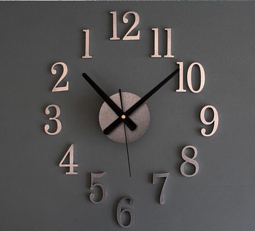 Acheter Horloge Inversée Retour Métallique Vrai True 3d Stéréo Diy Diy Horloge Murale Creative Fashion Montres Bell Refersal De 9 95 Du Beautylife88 Dhgate Com