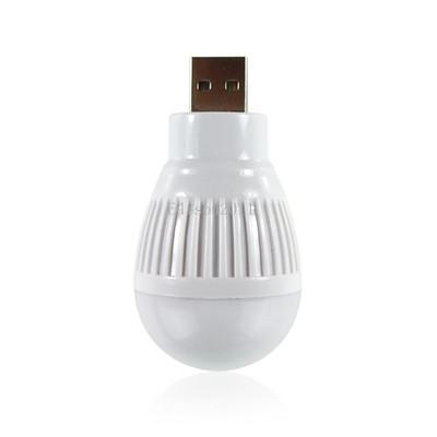 50 PCS Free DHL Newest Portable Mini 3W USB Bulb LED Light Lamp Room For Computer Laptop PC Desk Night Reading Searching Hiking