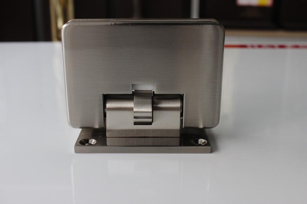 [Empresa] Central de compras de aleación de zinc baño cocina clip 90 grados ducha vidrio puerta bisagra abrazadera de vidrio
