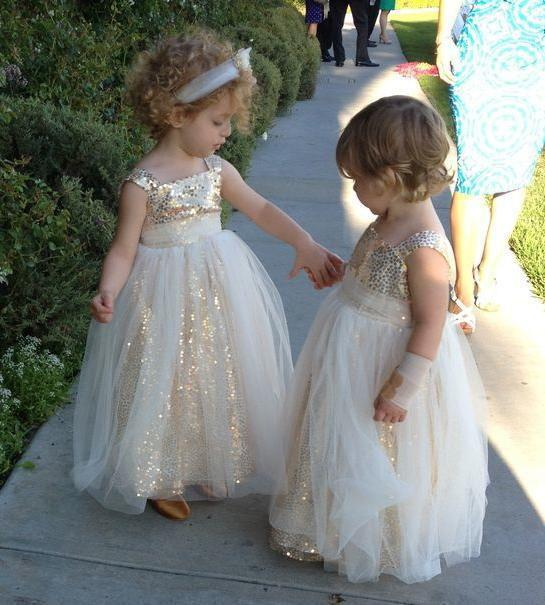Girls Party Dress Laced Formal Wedding Bridesmaid Christmas Princess UK STOCK