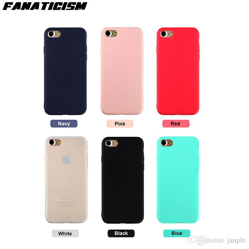 XS Max Candy Color Soft Silicone Iphone