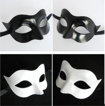 Kadınlar Siyah Beyaz Masquerade Maskeleri sevgililer Günü Maskeleri Kadın Moda Yarım Yüz Maskesi Meslektaşları Arkadaşlar Parti Aktivite Seksi Maske Gösterisi