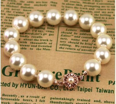 жемчужные цепочки золото застежка женщин'sbracelet ( ming320 ) gfrgd