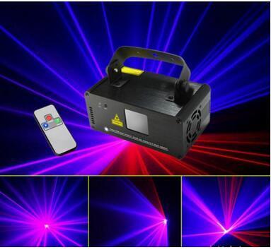 Red&BLue Line Laser Projecter for KTV/party/pub/bar/club lighting