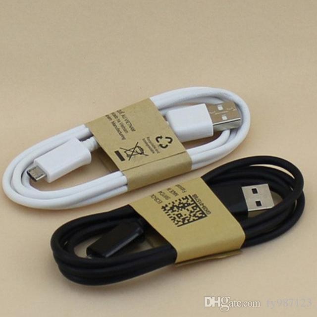 Spedizione gratuita 1 m 3FT OD 2.8 Micro pin sincronizzazione dei dati usb cavo di ricarica linea per smasung blackberry htc lg mp3