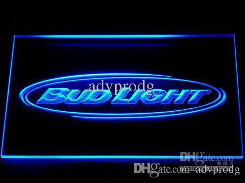 DHL 7 colori interruttore on / off Bud Light Bar LED al neon della birra segni della luce Wholeseller Dropship di spedizione libero 001