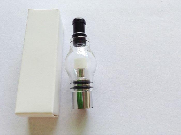 Factory Price Glass globe atomizer pyrex glass tank Wax Coil wax vaporizer Bulb Glass Globe electronic cigarette Cartomizer for ego Evod