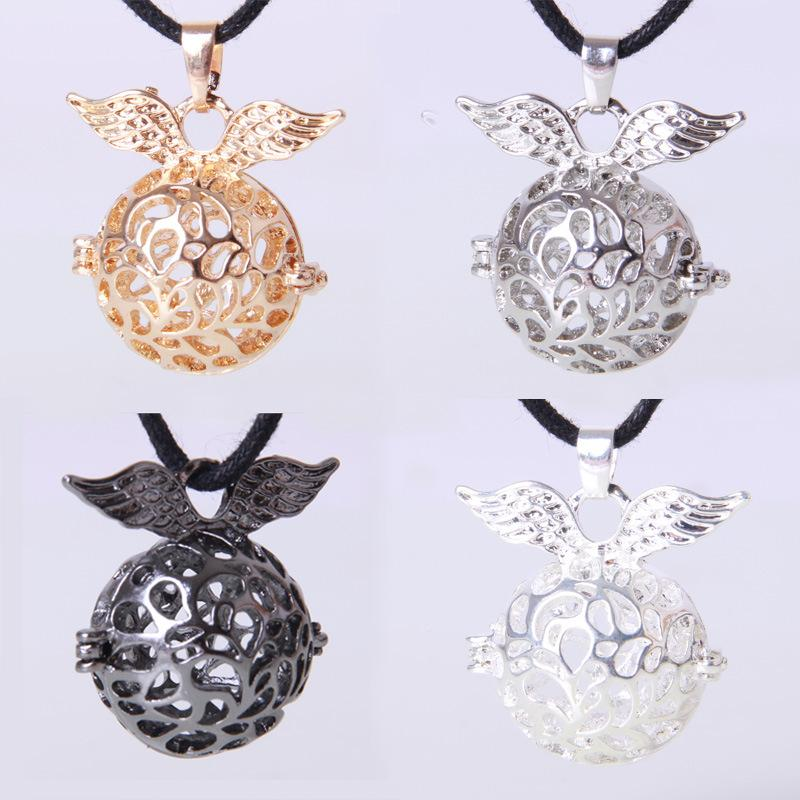 Harmony ball Maternity Necklace 4 colors Copper Matal Cage Angel Ball Pendants Only Pendant and Not Including Ball
