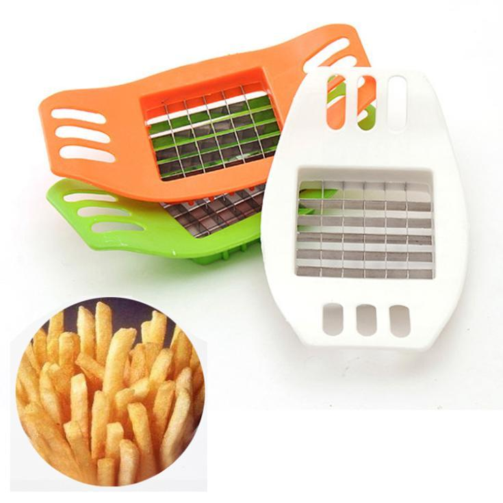 Free Shipping Potato Chip Vegetable Chopper Chipper Cutter Slicer Stainless Steel Creative FZ1283