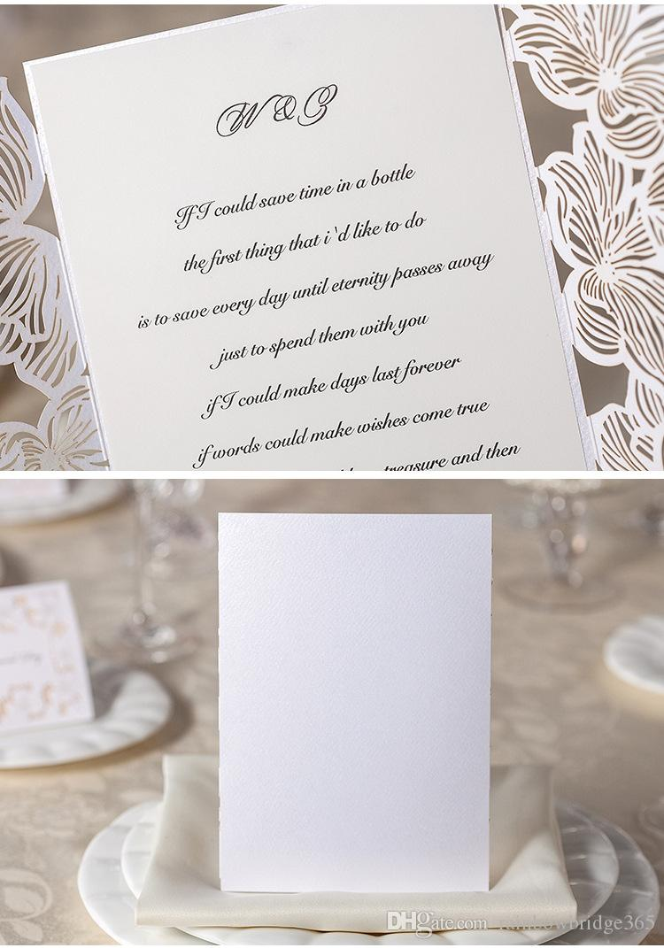 Wedding Invitations Cards Personalized Floral Wedding Cards ...