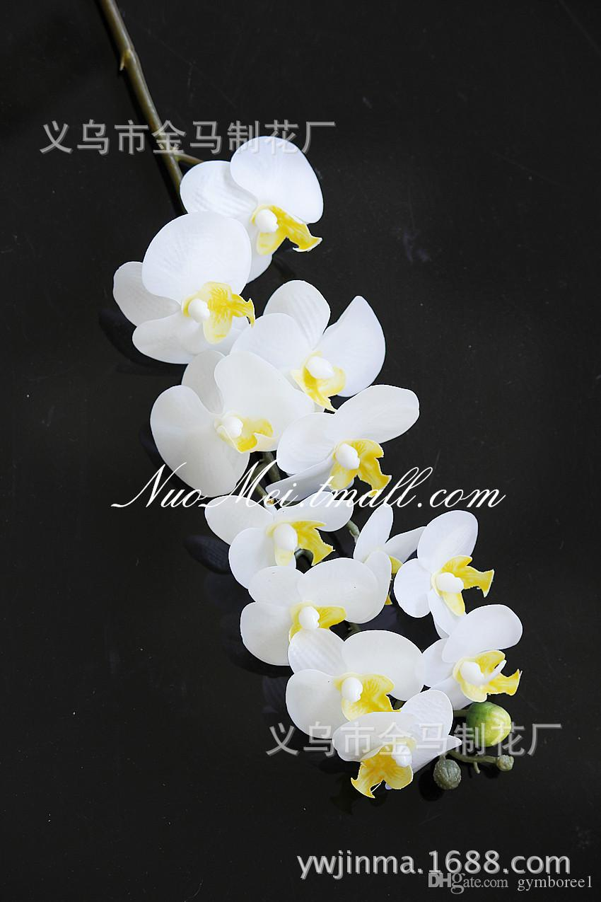 Best Factory Outlets 12 Flower Mini Phalaenopsis Simulation