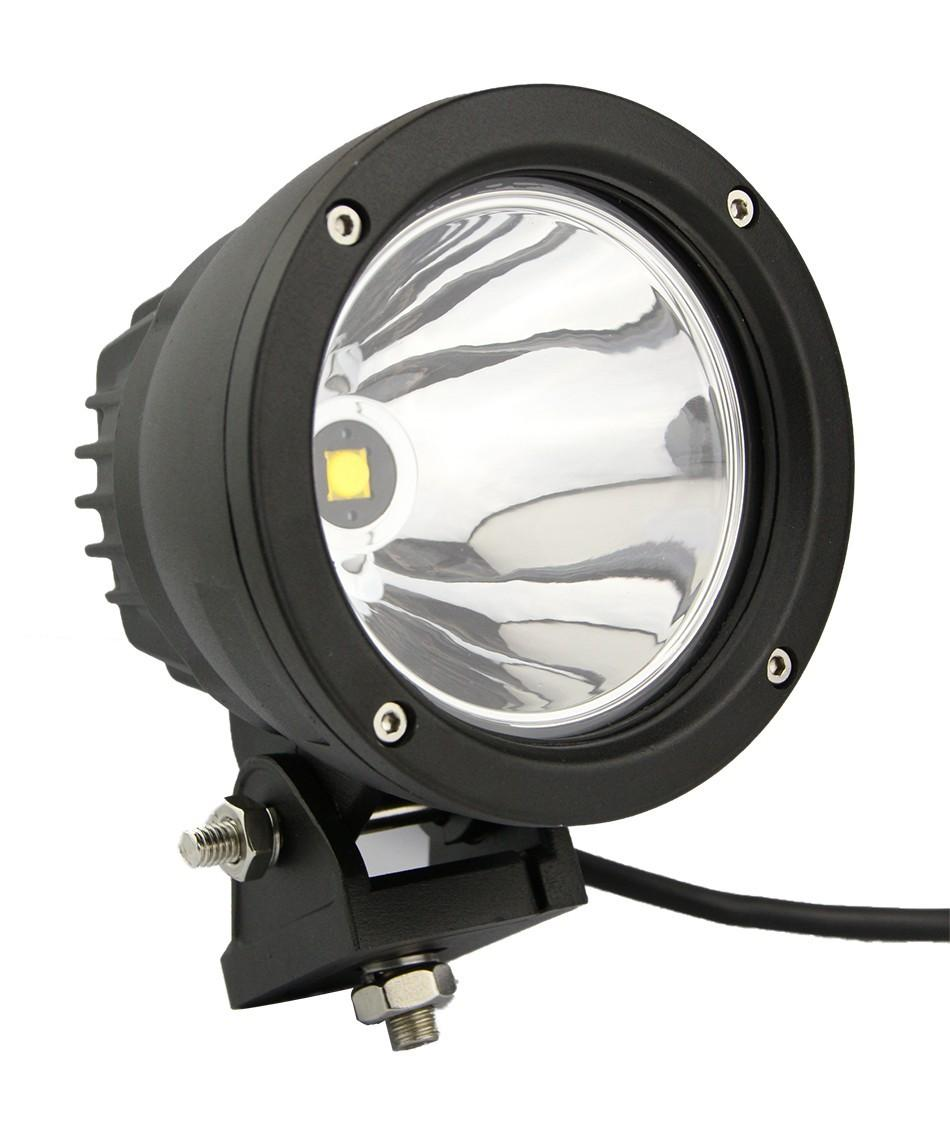 4 5 Inch Round 25w Led Work Light 4x4 Aluminium Cree Spot Led Driving Lights For Off Road Vehicles Jeep Truck 4wd Offroad Lamp Led Light Works Led