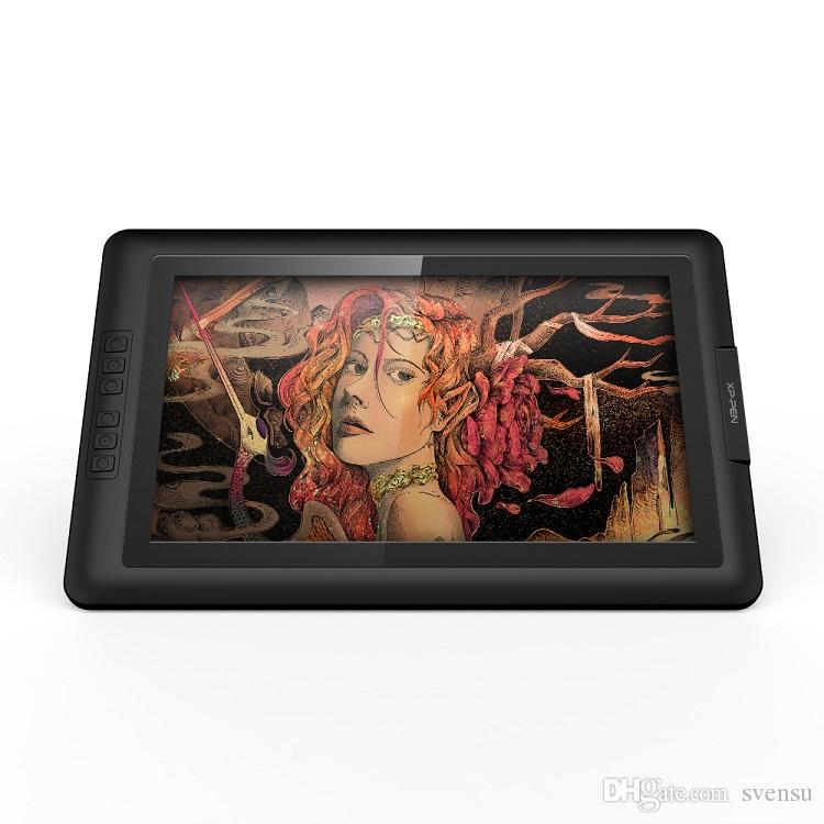 Navitech Red Graphics Tablet Case//Bag Compatible with The XP-Pen Star03 Drawing Tablet 12 inch