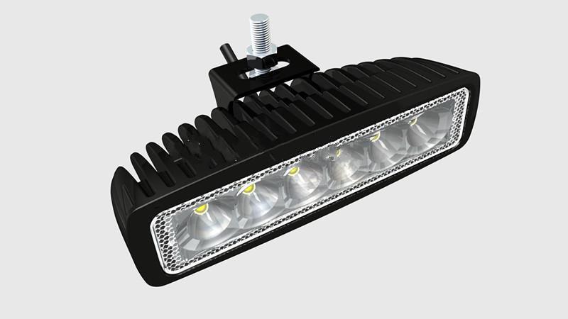 Faisceau d'inondation ou de tache de lumière de travail de la lumière 12V 24V IP67 de 18W LED pour 4WD 4x4 outre de la lampe de route