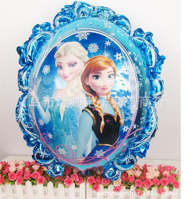 Grosshandel Gefrorene Anna Elsa Prinzessin Ballone Fur Geburtstag