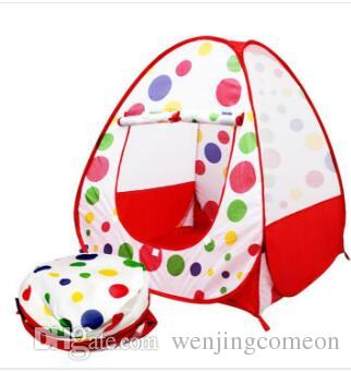 Tende da gioco per bambini Tende da giardino per esterni Tenda da campeggio portatile pieghevole IndoorOutdoor Pop Up Casa indipendente multicolor