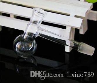 Produtos de vidro acessórios bong colher em linha reta panela, atacado acessórios do cachimbo de água, frete grátis, grande melhor