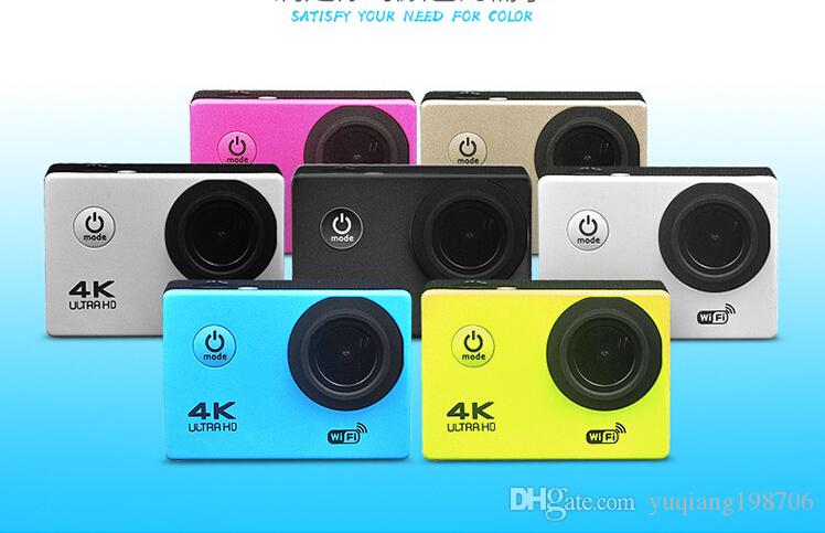 "4K Action camera F60 Allwinner 4K/30fps 1080P sport WiFi 2.0"" 170D Helmet Cam underwater go waterproof pro camera MQQ:10pcs"