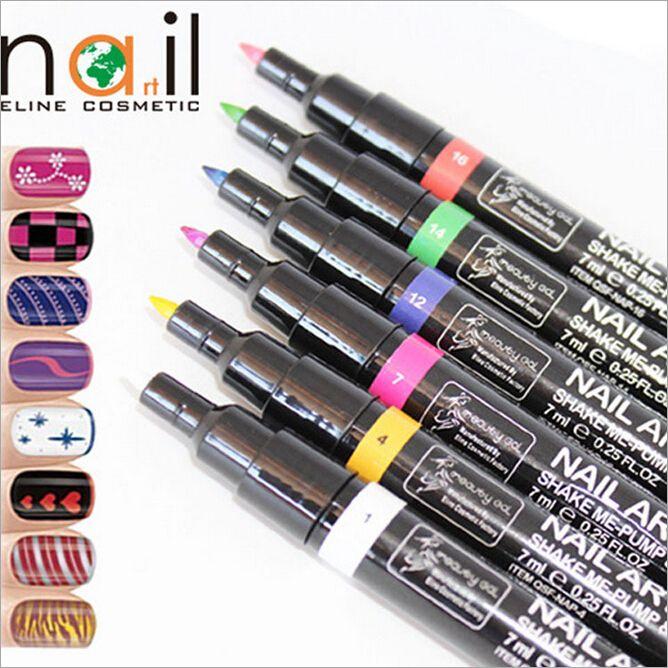 Nail Painting Art Pen Diy Drawing A Line Pull Pen Nail Polish Pen ...